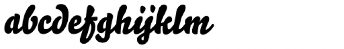 Bello Script Pro Font LOWERCASE