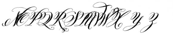 Belluccia Bold Font UPPERCASE