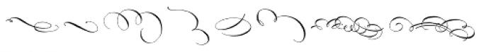 Belluccia Flourishes Font UPPERCASE