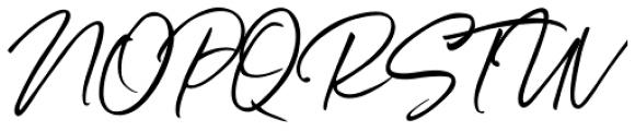 Belluga Slanted Solid Font UPPERCASE