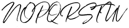 Belluga Slanted Font UPPERCASE