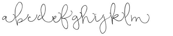 Bellwethers Short Swashes Font UPPERCASE