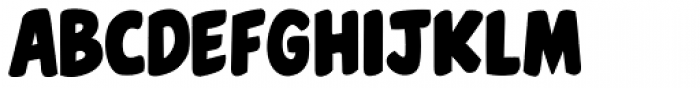 Belly Laugh Font LOWERCASE