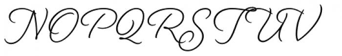 Beloved Script Bold Font UPPERCASE