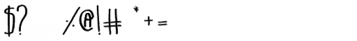 Belta Regular Font OTHER CHARS