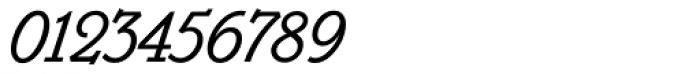 Belwe Mono Italic Font OTHER CHARS