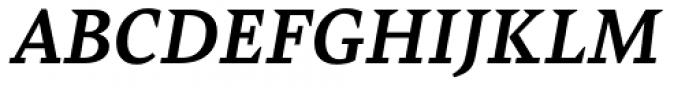 Bely Bold Italic Font UPPERCASE