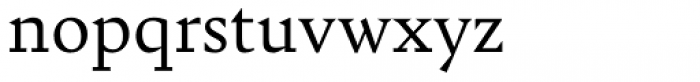 Bely Font LOWERCASE