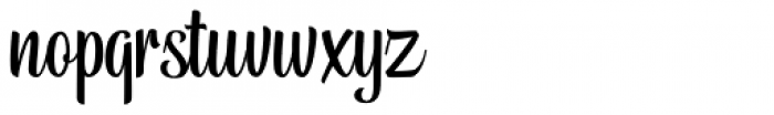 Belymon Script Regular Font LOWERCASE