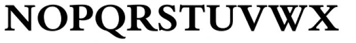 Bembo Book Std Bold Font UPPERCASE
