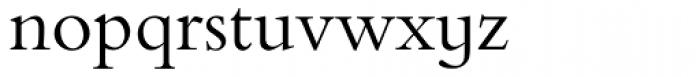 Bembo Infant Font LOWERCASE