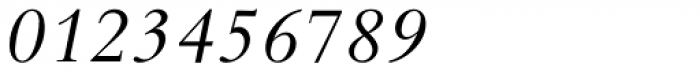Bembo Std Infant Italic Font OTHER CHARS