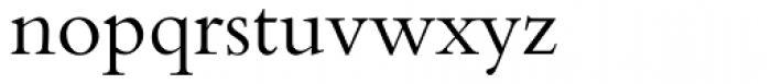 Bembo Font LOWERCASE