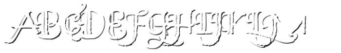 Bemol Caps Shadow Font UPPERCASE