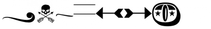 Bemol-Dingbats Font LOWERCASE