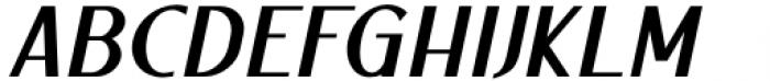 Ben Black Italic Font UPPERCASE