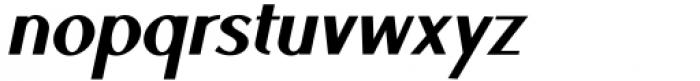 Ben Black Italic Font LOWERCASE