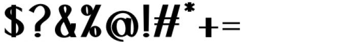 Ben Black Font OTHER CHARS