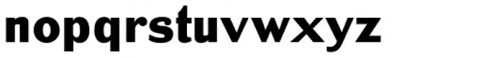 Bench Grinder Font LOWERCASE