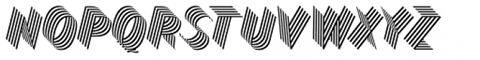 Bend Five Font UPPERCASE