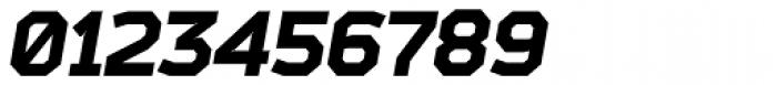 Bender Black Italic Font OTHER CHARS