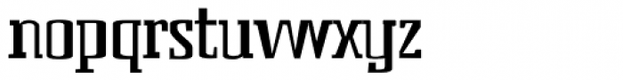 Bender Head AEF Font LOWERCASE