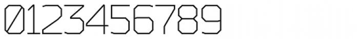 Bender Light Font OTHER CHARS