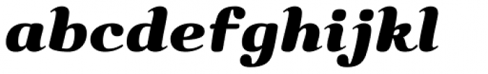Bendita Font LOWERCASE
