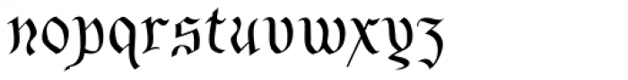 Bene Cryptine Shadow Inside Font LOWERCASE