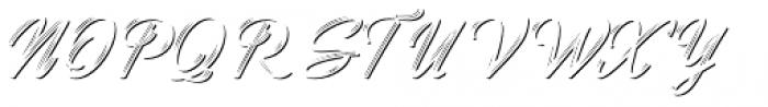 Benedictus Brush Combo Three Font UPPERCASE