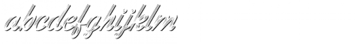 Benedictus Brush Combo Three Font LOWERCASE