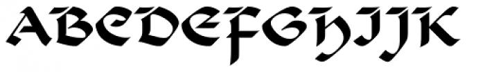 Beneta Roman Font UPPERCASE