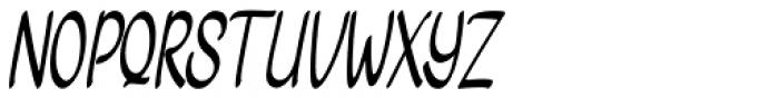 Bengawan Regular Font UPPERCASE