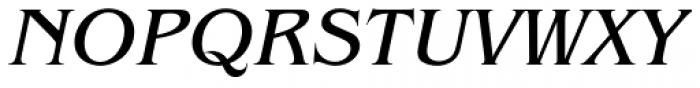 Benguiat Book Italic Font UPPERCASE