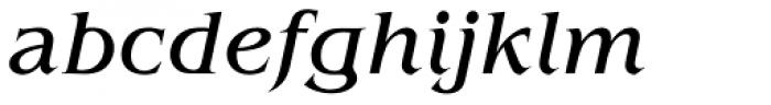 Benguiat Book Italic Font LOWERCASE