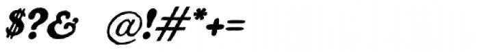 Benjamin Franklin Italic Font OTHER CHARS