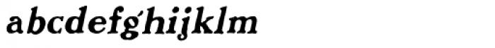 Benjamin Franklin Italic Font LOWERCASE
