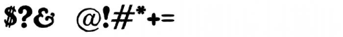 Benjamin Franklin Font OTHER CHARS
