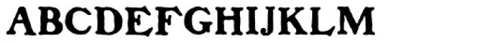 Benjamin Franklin Font UPPERCASE