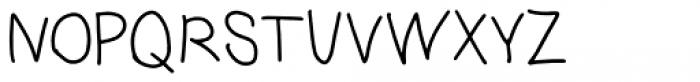 Benjammin' Regular Font UPPERCASE