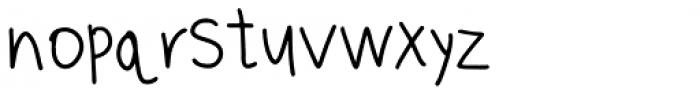 Benjammin' Regular Font LOWERCASE