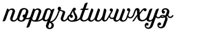 Benson Script No 25 Font LOWERCASE