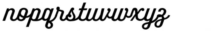 Benson Script No 30 Font LOWERCASE