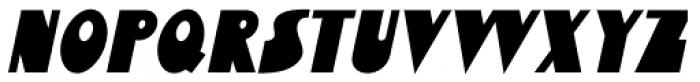 Bensonhurst Oblique JNL Font UPPERCASE