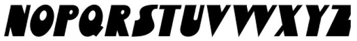 Bensonhurst Oblique JNL Font LOWERCASE