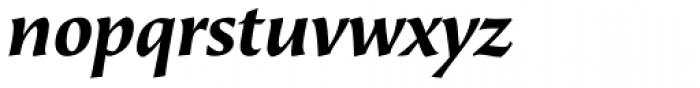 Beorcana Display Std Bold Italic Font LOWERCASE