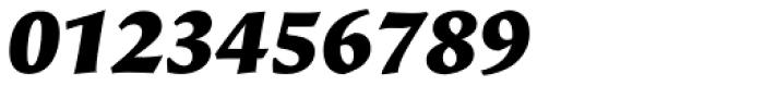 Beorcana Pro Black Italic Font OTHER CHARS