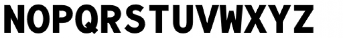Bergen Mono Bold Font UPPERCASE