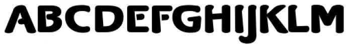 Bergsland Round Black Font UPPERCASE