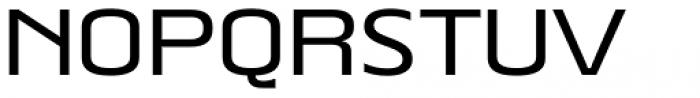 Beriot Medium Expanded Font UPPERCASE
